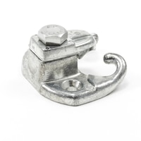 Thumbnail Image for Head Rod Clamp with Stainless Steel Fasteners for Wood #1 Zinc Die-Cast 3/8