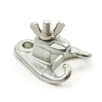 Thumbnail Image for Head Rod Clamp Roller Curtain Type with Stainless Steel Fasteners for Brick #10 Zinc Die-Cast 3/8