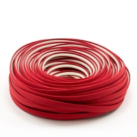 Thumbnail Image for Steel Stitch Sunbrella Covered ZipStrip #6003 Jockey Red 160' (Full Rolls Only)
