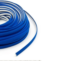 Thumbnail Image for Steel Stitch Sunbrella Covered ZipStrip #6001 Pacific Blue 160' (Full Rolls Only) 1