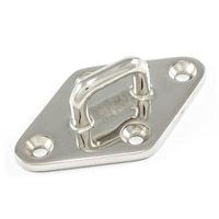 Thumbnail Image for SolaMesh Diamond Pad Eye Stainless Steel Type 316 90mm x 55mm (3-1/2