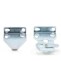 """Thumbnail Image for RollEase Mounting Bracket for R-3/ R-8 Clutch 1-1/2"""" Nickel"""