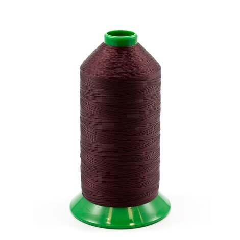 Image for A&E Poly Nu Bond Twisted Non-Wick Polyester Thread Size 92 #4631 Burgundy 16-oz