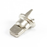 Thumbnail Image for DOT Common Sense Turn Button Double Prong Double Height #91-XB-78333-1A Nickel Plated Brass 100-pk 0