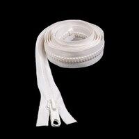 "Thumbnail Image for Sunbrella SUNZIP III #10 Separating Zipper Automatic Lock Double Pull Metal Slider  72"" White"
