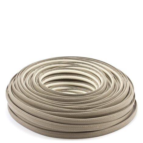 Image for Steel Stitch Sunbrella Covered ZipStrip with Tenara Thread #4648 Taupe 160' (Full Rolls Only)