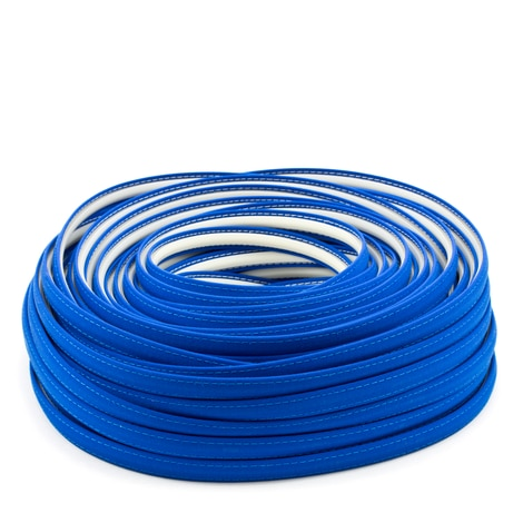 Image for Steel Stitch Sunbrella Covered ZipStrip #6001 Pacific Blue 160' (Full Rolls Only)
