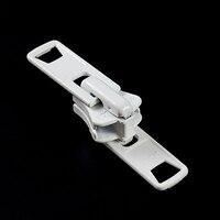Thumbnail Image for YKK® VISLON® #10 Metal Sliders #10VFDX AutoLok Double Pull White 3