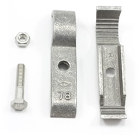 Thumbnail Image for Tie Down Clamp Slip-Fit #77 Aluminum 3/4