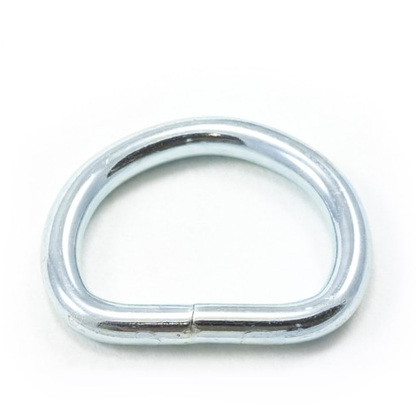 Image for Dee Ring Welded #3250 Zinc Plated Steel 1-1/8