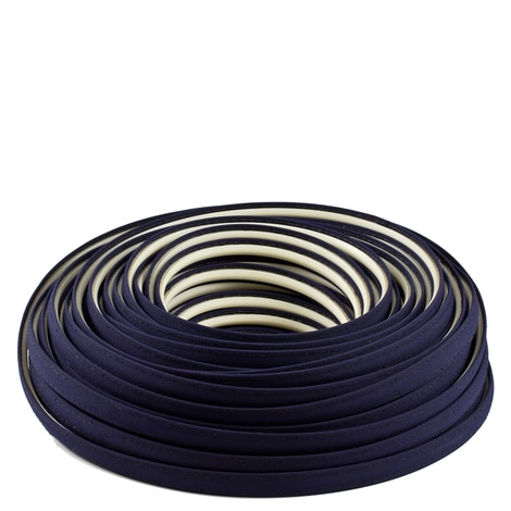 Image for Steel Stitch Sunbrella Covered ZipStrip with Tenara Thread #4646 Captain Navy 160' (Full Rolls Only)