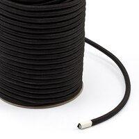 """Thumbnail Image for Polypropylene Covered Elastic Cord #M-5 5/16"""" x 150' Black"""