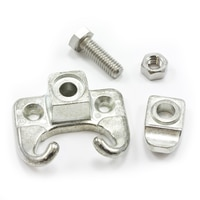 Thumbnail Image for Head Rod Clamp with Stainless Steel Fasteners for Wood #5 Zinc Die-Cast 3/8