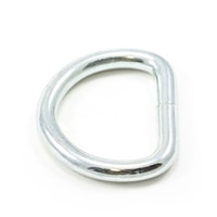 Thumbnail Image for Dee Ring Welded #3250 Zinc Plated Steel 1-1/4