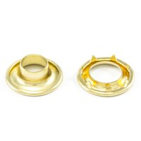 Thumbnail Image for DOT Rolled Rim Grommet with Spur Washer #3 Brass 15/32
