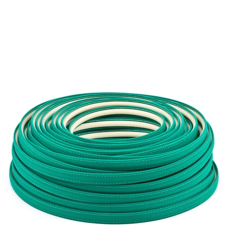 Image for Steel Stitch Sunbrella Covered ZipStrip with Tenara Thread #4645 Seagrass Green 160' (Full Rolls Only)