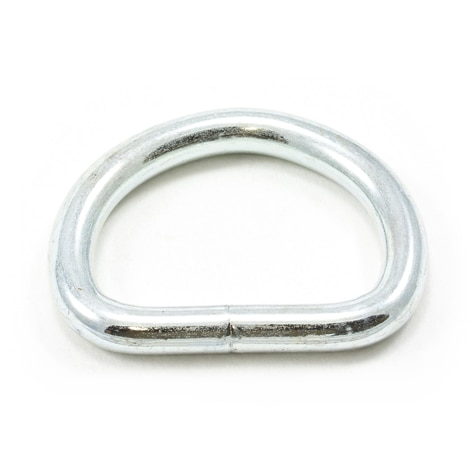 Image for Dee Ring Welded #3250 Zinc Plated Steel 1-1/4