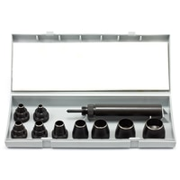 Thumbnail Image for Self-Centering Punch Set With 9 Hole Cutting Dies #K156 2