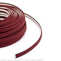 Thumbnail Image for Steel Stitch Sunbrella Covered ZipStrip with Tenara Thread #4631 Burgundy 160' (Full Rolls Only) 1