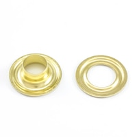 "Thumbnail Image for DOT Grommet with Plain Washer #3 Brass 7/16"" 25-gr"