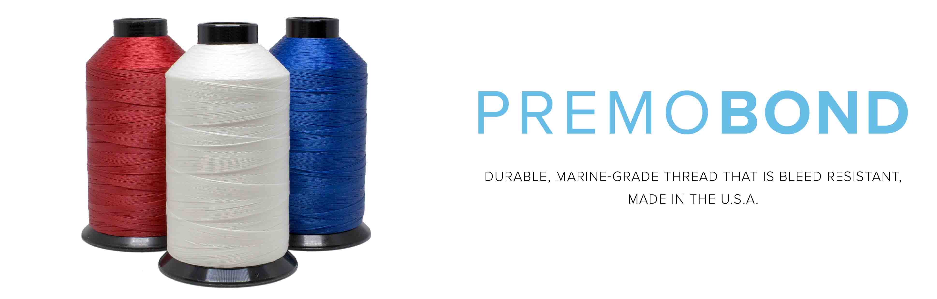PremoBond thread bobbins advertisement