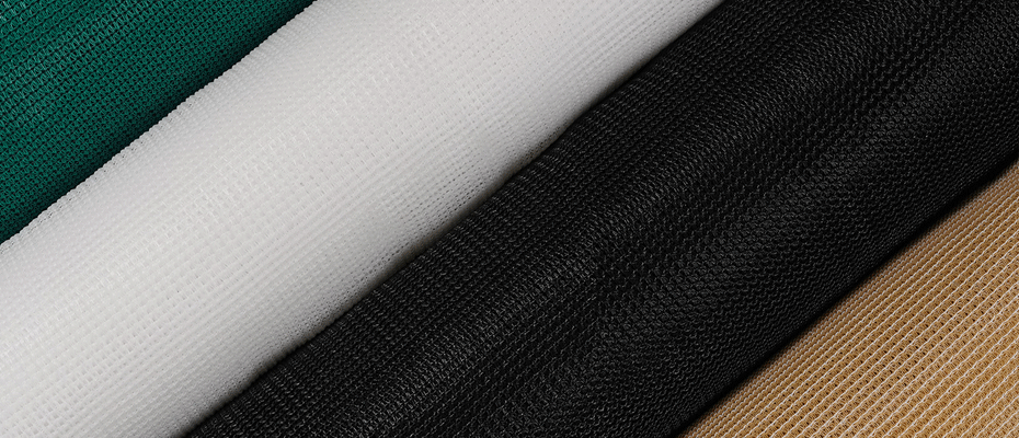 rolls of agriculture mesh fabric