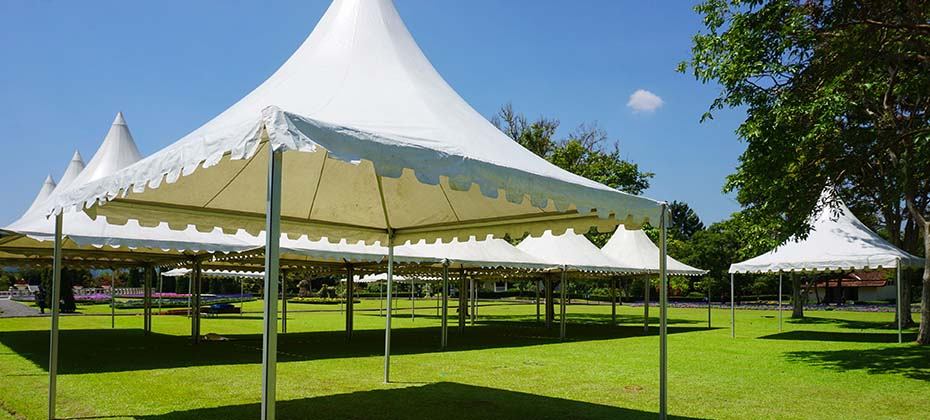 Durable, high-quality tent fabric